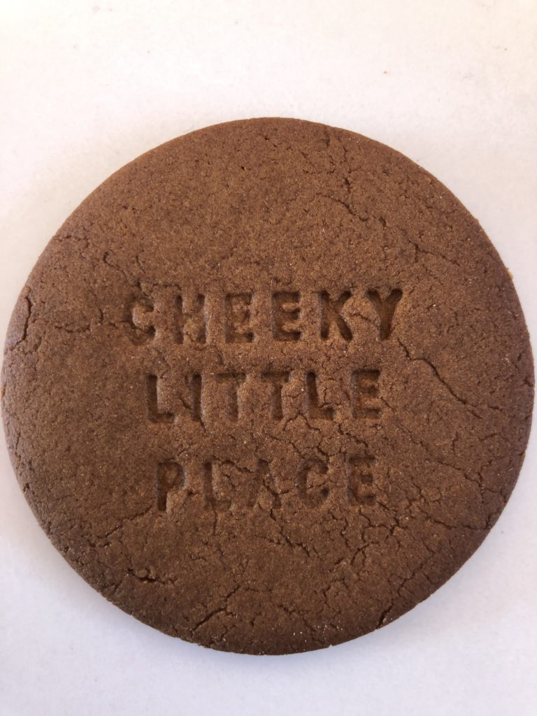 A cheeky cookie at Cheeky Little Place in New Norfolk.